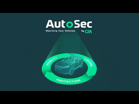 AutoSec by C2A Security- The first automotive cybersecurity lifecycle management platform