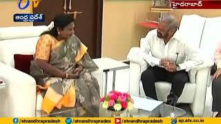 Balakrishna Meets Governor Tamilisai Soundararajan..