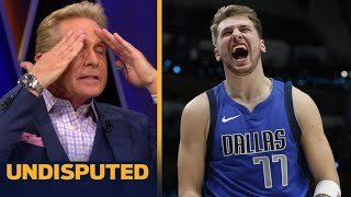"UNDISPUTED | Skip Bayless ""Impressive"" Luka drop 34 Pts, 20 Reb, 12 Ast in Mavs def Kings 114-110"
