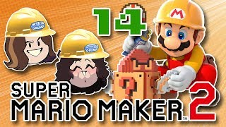Super Mario Maker 2 - 14 - Overgrown Mushroom Cloudtops: NOT WHAT YOU THINK!
