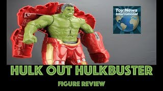 Avengers: Infinity War Hasbro Hulk Out Hulkbuster Figure Review