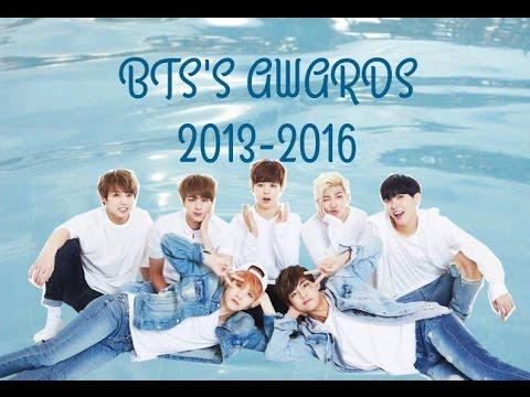 BTS (방탄소년단) Awards 2013-2016