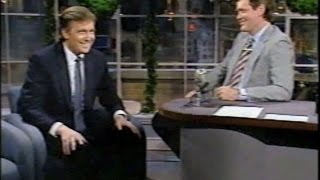 Donald Trump on Late Night, 1986-87