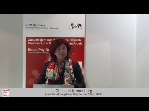 Christine Kronenberg  | Equal Pay Day Forum am 18.11.2015 in Frankfurt am Main