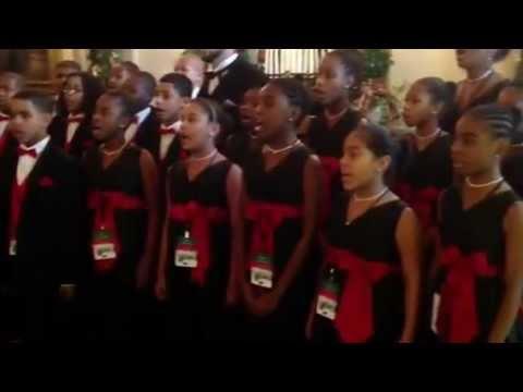 Boston Renaissance Charter Public School performs at White House