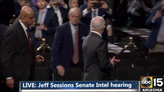 WATCH LIVE: Jeff Sessions Senate Testimony On James Comey's Firing