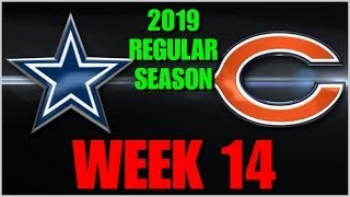 ☆REACTION☆ 2019 REGULAR SEASON WEEK 14: Dallas Cowboys @ Chicago Bears *Play-By-Play & Watch Party!*