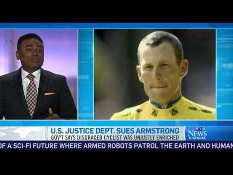 U.S. Justice Department suing Lance Armstrong