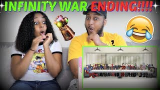"""""""How Avengers Infinity War Should Have Ended"""" REACTION!!"""