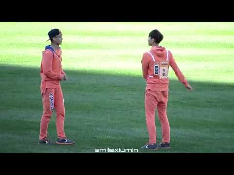 [03.09.13] Kai and Tao dance @ Idol Star Athletics Champion