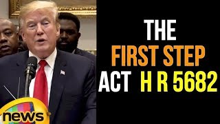 Trump's announcement on The First Step Act..