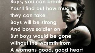 John Mayer - Daughters (Lyrics)