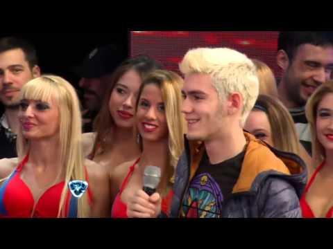 Showmatch 2014 - El hijo de Rodrigo estuvo en Showmatch y emocionó a Polino