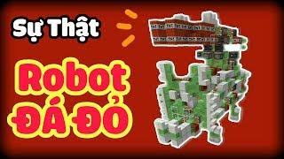 SỰ THẬT ÍT AI BIẾT VỀ ROBOT ĐÁ ĐỎ CÓ SỨC MẠNH HỦY DIỆT TRONG MCPE | Minecraft PE 1.1.3