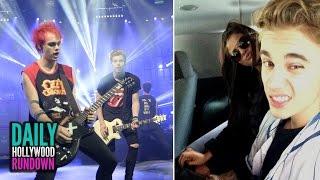 Selena   Gomez & Justin Bieber Break Up? – 5SOS Sing Tweets on Tonight Show