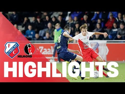 HIGHLIGHTS | Jong FC Utrecht - Helmond Sport