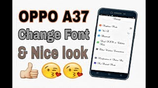 EASIEST WAY ON HOW TO CHANGE FONT IN A3S, A5S || STEP BY