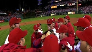Halladay's historic no-hitter in the NLDS
