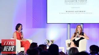 Elizabeth Vargas Discusses Double Standards in Journalism on #MeToo Anniversary | THR News