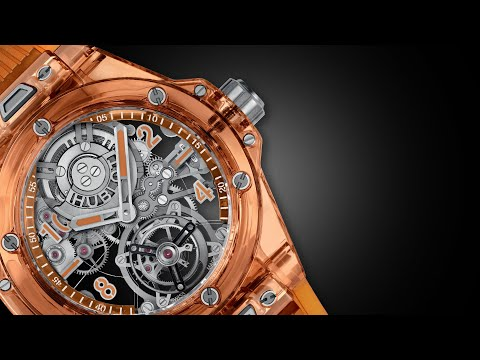 Hublot apresenta o novo Big Bang Tourbillon Automatic Orange Sapphire