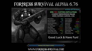 Warcraft 3 - Fortress Survival Alpha 6.76 #1