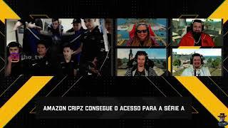 EMOCIONANTE COMEMORAÇAO DA AMAZON CRIPZ CLASSIFICADA  PARA SERIE A DA LBFF