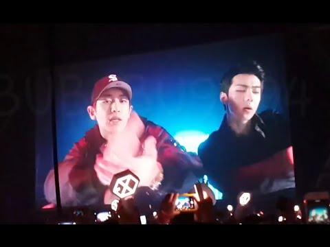 160910 EXO'rDIUM in BKK - Tender Love, 같이해 & 카이 세훈 레이 vcr