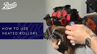 How-to: use heated rollers
