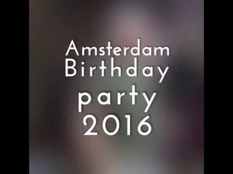 Menache Birthday Party in Amsterdam. 07/2016. What a wonderful Family !