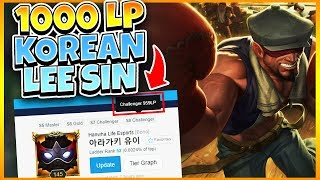 HOW GOOD IS A 1000LP KOREAN LEE SIN? | League of Legends - YouTube