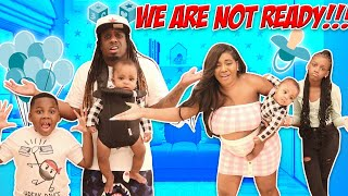 24 Hours With Newborn Baby Challenge!!! We Are Not Ready