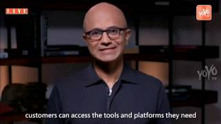 Microsoft CEO Satya Nadella Speaks About JIO Digital: Muke..