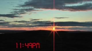 The Midnight Sun in Northern Sweden...
