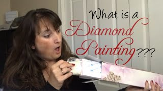 **Not For Children** Unboxing my First Diamond Painting from Victorias Moon
