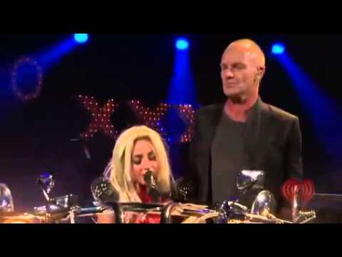 Lady Gaga ft. Sting - Stand By Me (Live At iHeartRadio 2011)