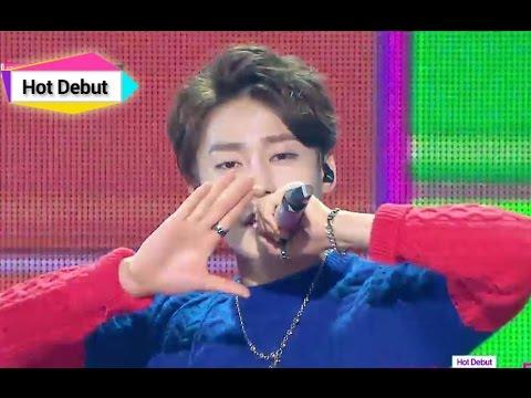[HOT DEBUT] UNIQ - Falling in love, 유니크 - 폴링 인 러브, Music Core 20141108