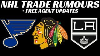 NHL Trade Rumours - Hawks, Blues & Kings