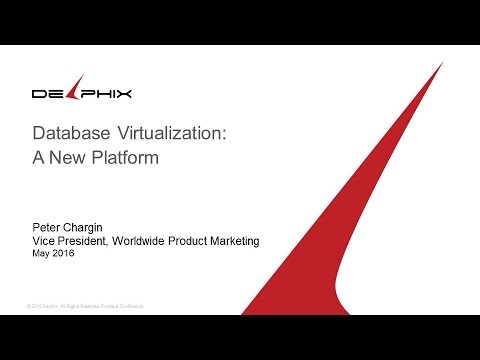ET2016 Session 28: Data Virtualization - Delphix
