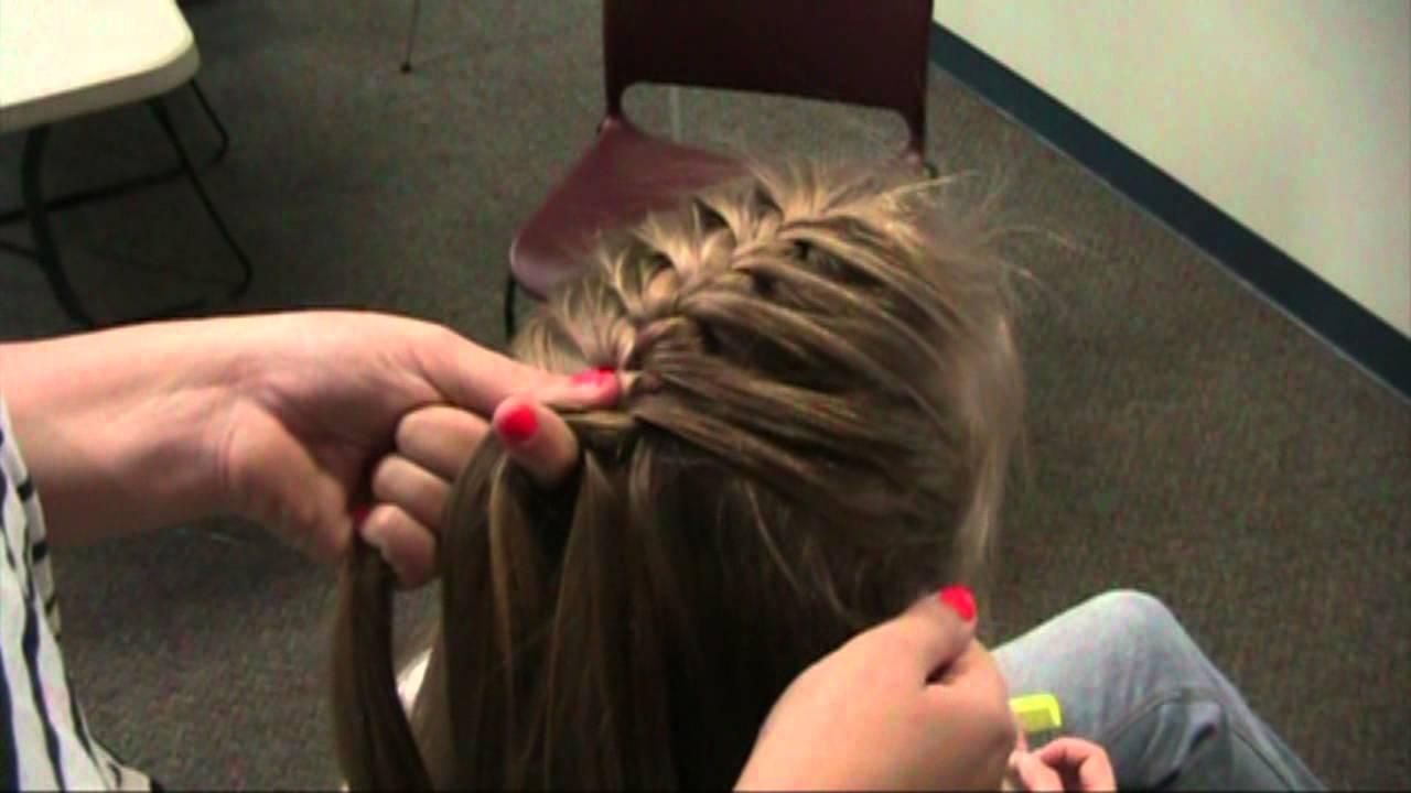 Hair Braiding Techniques French Braid Youtube