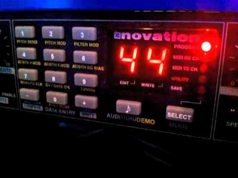 Novation Bass Station Rack Theme