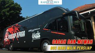 Intip Bus Baru Persijap, Bermesin Hino RK8, Berbody Avante H7 Karoseri Tentrem