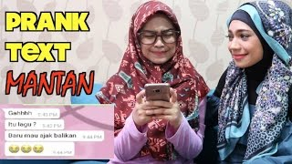 PRANK TEXT DOI DIAJAK BALIKAN? :( w/ Indah Nevertari