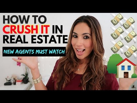 10 Tips to CRUSH it in Real Estate - New Agents MUST watch
