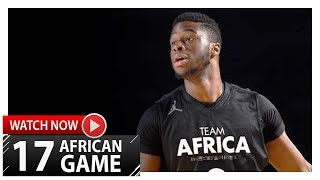 Emmanuel Mudiay Full Highlights vs Team World (2017 Africa Game) - 22 Pts, 8 Reb, 9 Ast