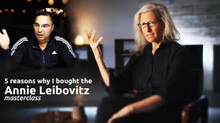 5 REASONS I BOUGHT THE ANNIE LEIBOVITZ MASTERCLASS. This is just what I needed