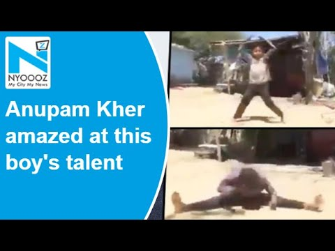Anupam Kher amazed at this boy's talent, seeks details to sponsor his study and training