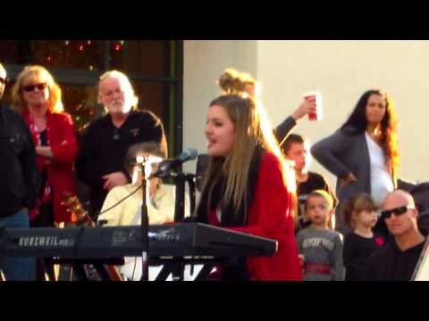 Taylor playing at The Galleria December 2012