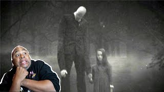 He Wont Stop Appearing!! - 2 SCARY YET TRUE SLENDERMAN STORIES REACTION!