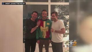 Ryan Reynolds Pranked Into Wearing Holiday Sweater