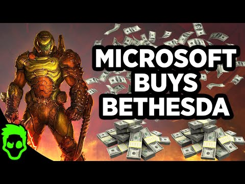 MICROSOFT BOUGHT BETHESDA FOR $7.5 BILLION